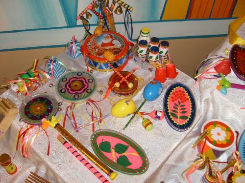 Музыкальная инструменты своими руками для детского сада